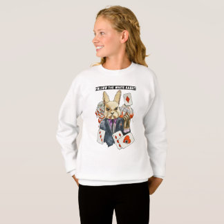 follow the White Rabbit Sweatshirt