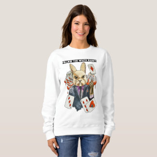 follow the White Rabbit Sweatshirt