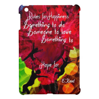 Follow this and be happy entire your life iPad mini case