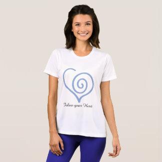 Follow you Heart graphic tee shirt