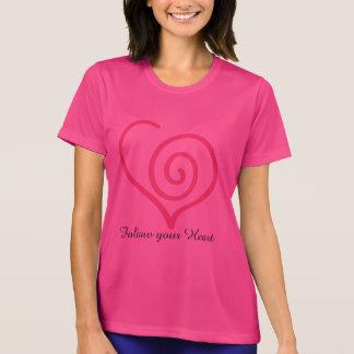 Follow you Heart graphic tee shirt.