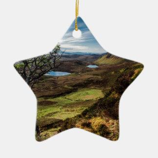 Follow your dreams! ceramic star ornament