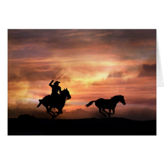 Follow Your Dreams Encouragement Cowboy Card