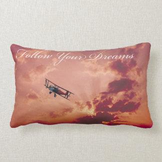Follow Your Dreams Lumbar Pillow