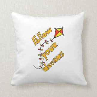 Follow your Dreams Pillow Orange