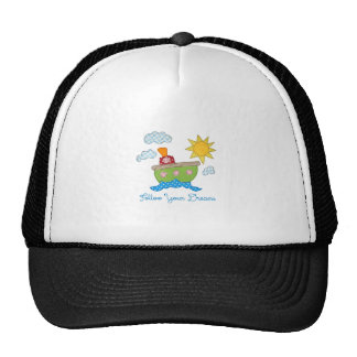 Follow-your-dreams Trucker Hat
