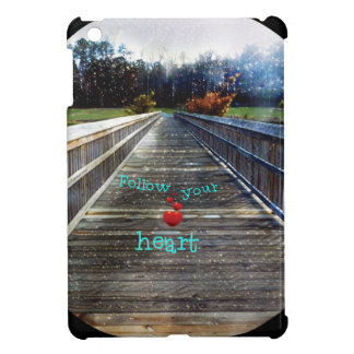 Follow Your Heart Across Bridge Into Light iPad Mini Case
