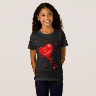 Follow Your Heart Girls Tee