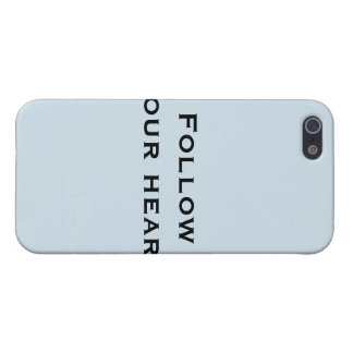 Follow your heart iPhone 5 cover