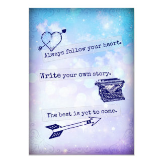 Follow Your Heart Junk Journal Smash Book Page Card