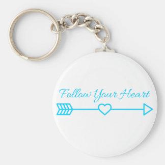 Follow Your Heart Keychain