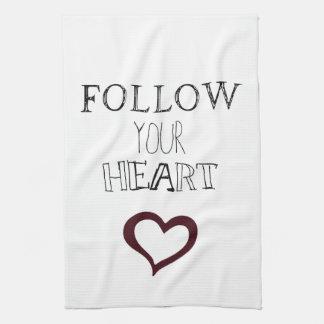 Follow Your Heart Kitchen Towel