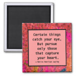 follow your heart square magnet