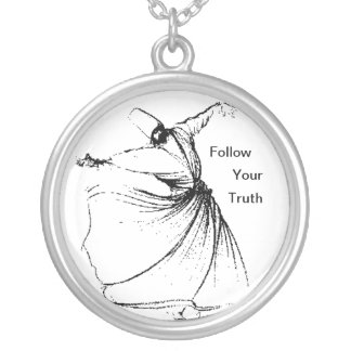 Follow Your Truth Silver Plated Necklace