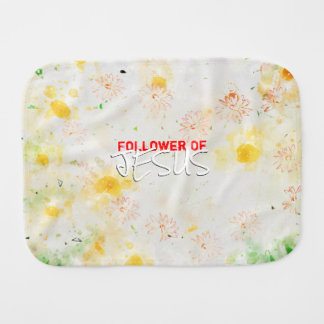 Follower Of JESUS Burp Cloth