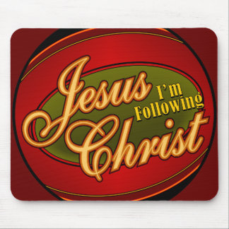 Following Jesus Mouse Pad