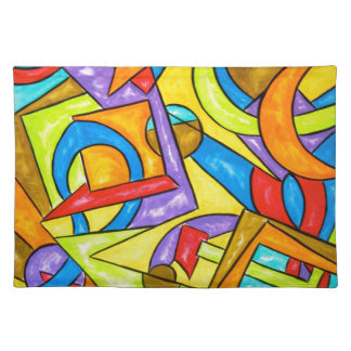 Following The Instructions - Abstract Art Placemat