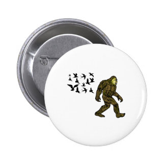 FOLLOWING THE LEADER 2 INCH ROUND BUTTON