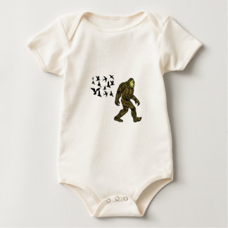 FOLLOWING THE LEADER BABY BODYSUIT