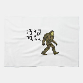 FOLLOWING THE LEADER KITCHEN TOWEL