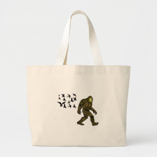 FOLLOWING THE LEADER LARGE TOTE BAG