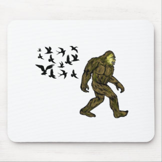 FOLLOWING THE LEADER MOUSE PAD