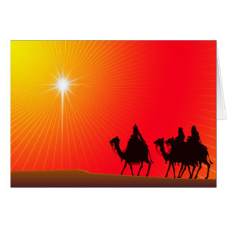 Following the star - Customized Card