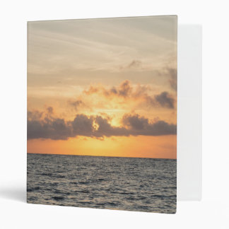 Folly Beach Morning 3 Ring Binder
