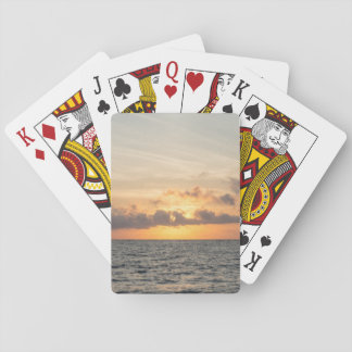 Folly Beach Morning Playing Cards
