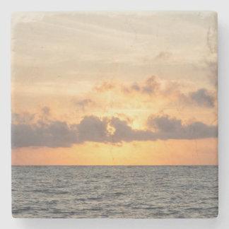 Folly Beach Morning Stone Coaster