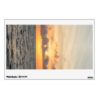 Folly Beach Morning Wall Sticker
