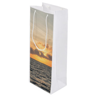 Folly Beach Morning Wine Gift Bag