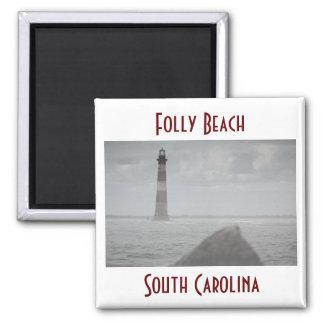 Folly Beach, South Carolina Magnet