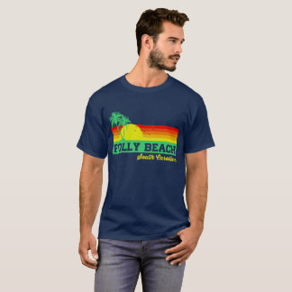 Folly Beach South Carolina T-Shirt