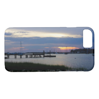 Folly Harbor Sunset Case-Mate iPhone Case