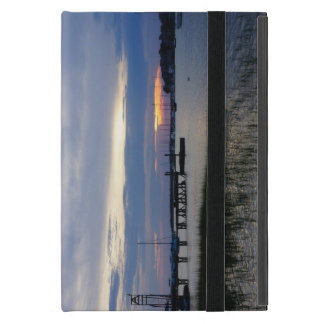 Folly Harbor Sunset iPad Mini Case