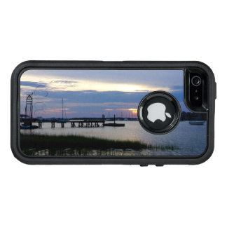 Folly Harbor Sunset OtterBox Defender iPhone Case