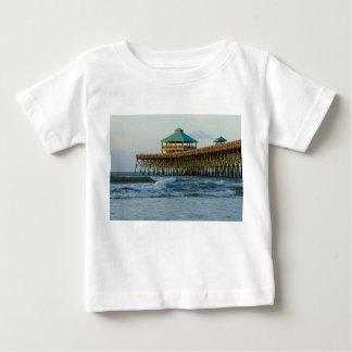Folly Pier Morning Baby T-Shirt