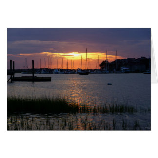 Folly River Sunset Note Card