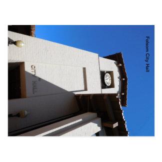 Folsom Icon: Folsom City Hall, Bell Tower Postcard