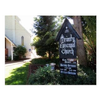 Folsom Icon: Trinity Episcopal Church Postcard