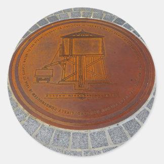 Folsom Icons: Historic Manhole Cover Classic Round Sticker
