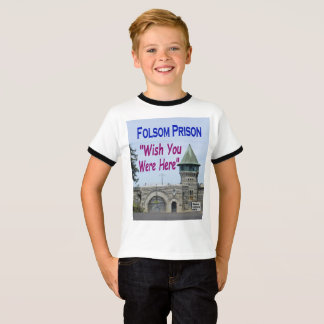 "Folsom Prison: ""Wish You Were Here"" T-Shirt"