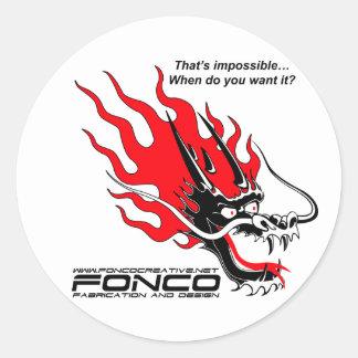 Fonco Stickers
