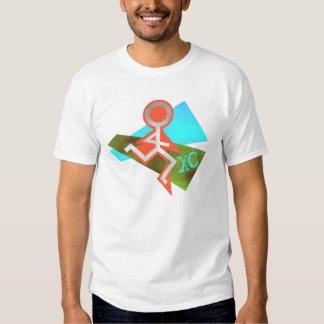 Fonctionnement de pays croisé du cool XC Tee-shirt