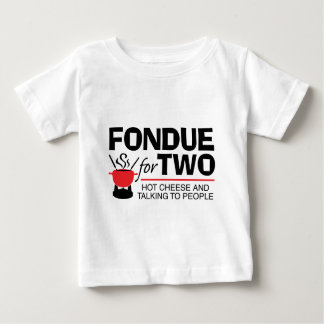 Fondue For Two Baby T-Shirt