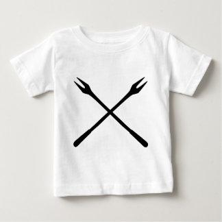 fondue spit icon baby T-Shirt