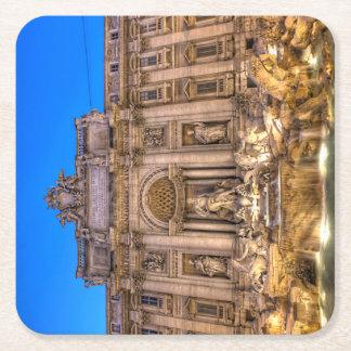 Fons Oceani per Orarium in Trivio Square Paper Coaster