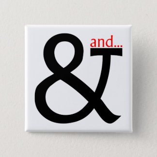 Font Cookery 2 Inch Square Button