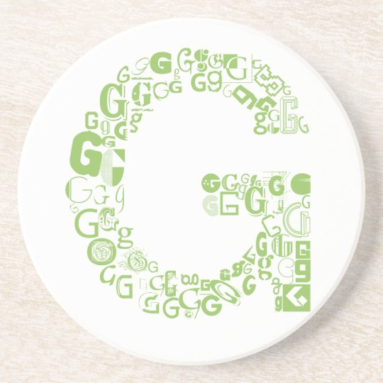 Font Fashion G Coaster